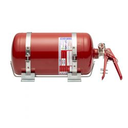 Manual fire extinguishing system with FIA Sparco 4,25L