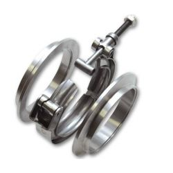 "V-band clamp flanges kit 63mm (2,5"")"