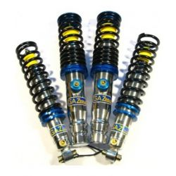 Adjustable coilover GAZ GGA for Renault Clio except 16V (90-98)
