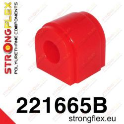Front anti roll bar Strongflex bush
