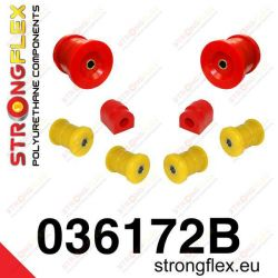 Rear suspension Strongflex bush kit