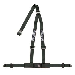 "3 point safety belts 2"" (50mm), black"