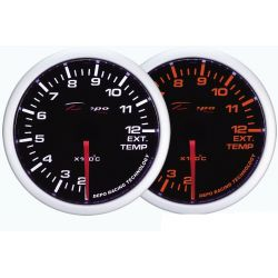 Gauge DEPO Exhaust gas temp - Dual view series
