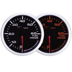 Gauge DEPO fuel pressure - Dual view series