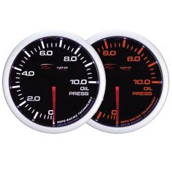 Gauge DEPO Oil pressure - Dual view series
