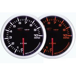 DEPO racing gauge Tachometer - White and Amber series
