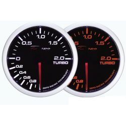 Gauge DEPO Tlak turba -1 until 2bar - Dual view series
