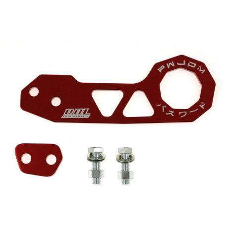 Tow hooks and tow straps Aluminium tow eye Benen style rear | races-shop.com