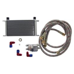 Oil cooler kit D1 Spec 19 rows + relocation
