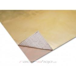 Zlatá samolepiacia tepelná izolácia Thermotec 30,4x61cm