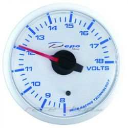 DEPO racing gauge Volt (Volt) - Super white series