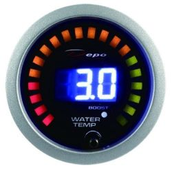 DEPO racing gauge 2in1 Water temp + boost Digital combo series