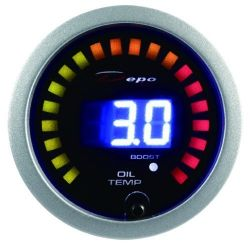 DEPO racing gauge 2in1 Oil temperature + boost Digital combo series