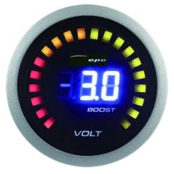 DEPO racing gauge 2in1 Volt + boost Digital combo series