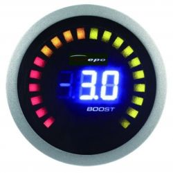DEPO racing gauge 2in1 Exhaust gas temp + boost Digital combo series